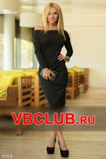Черное платье миди FN-8569