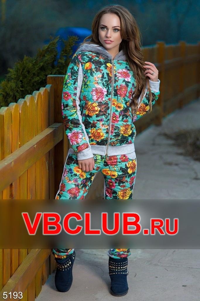 Утепленный спортивный костюм с начесом FN-5193