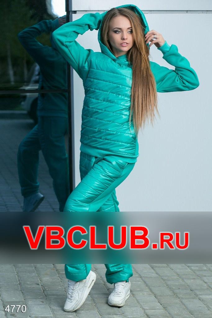 Стеганный спортивный костюм из плащевки FN-4770