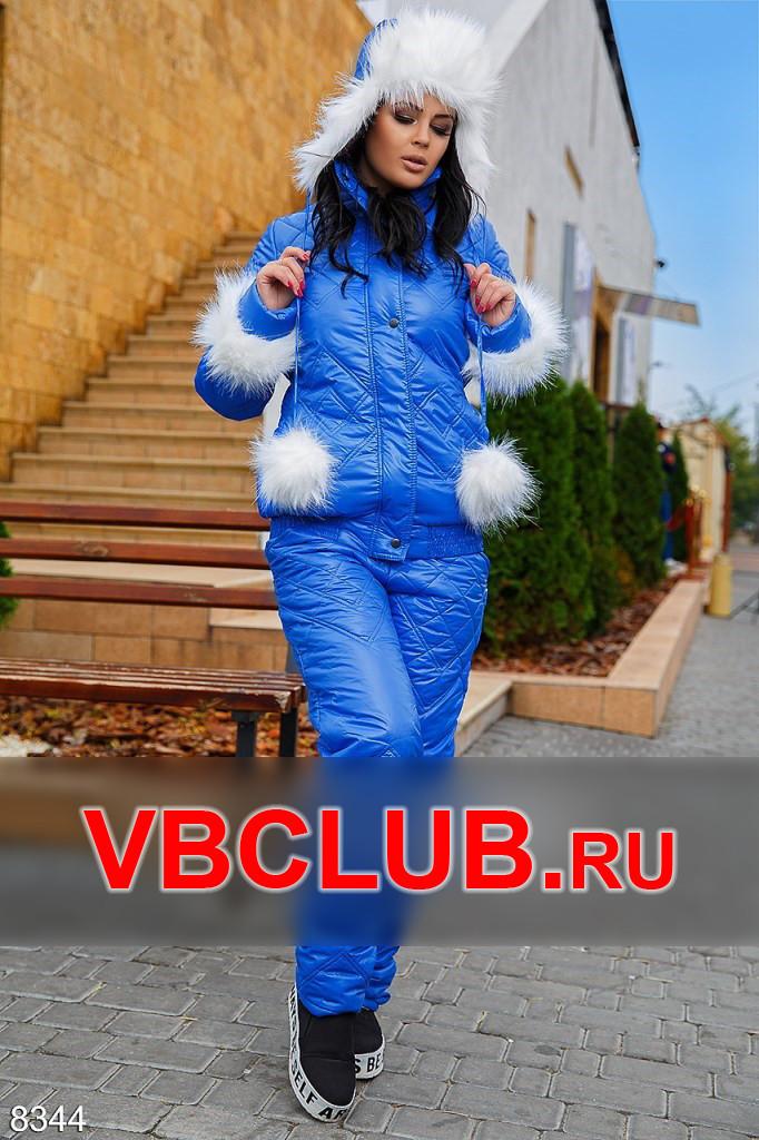 Зимний спортивный костюм с мехом FN-8344