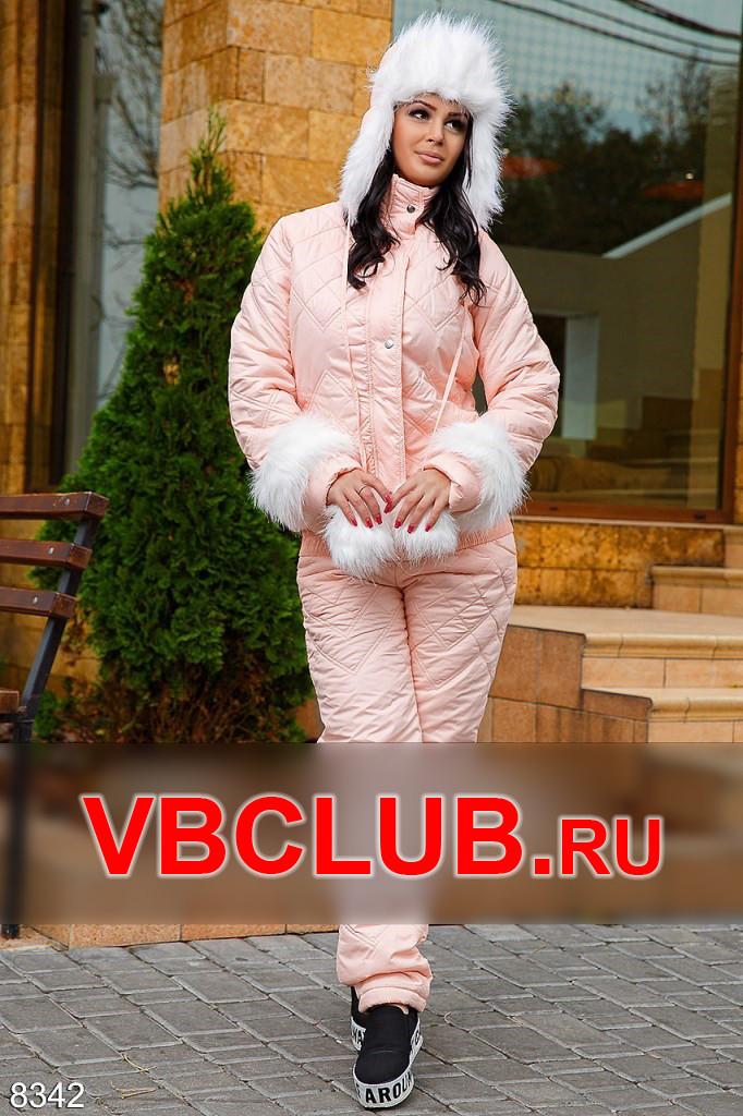 Стеганный зимний спортивный костюм FN-8342