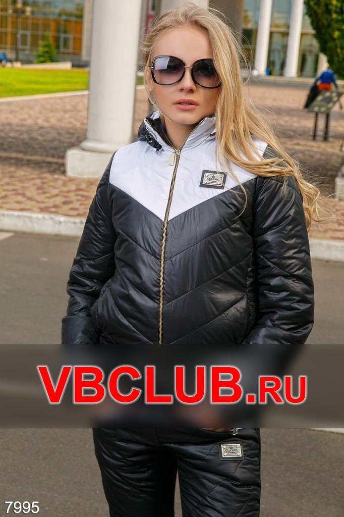 Спортивный теплый костюм со сьемным капюшоном FN-7995
