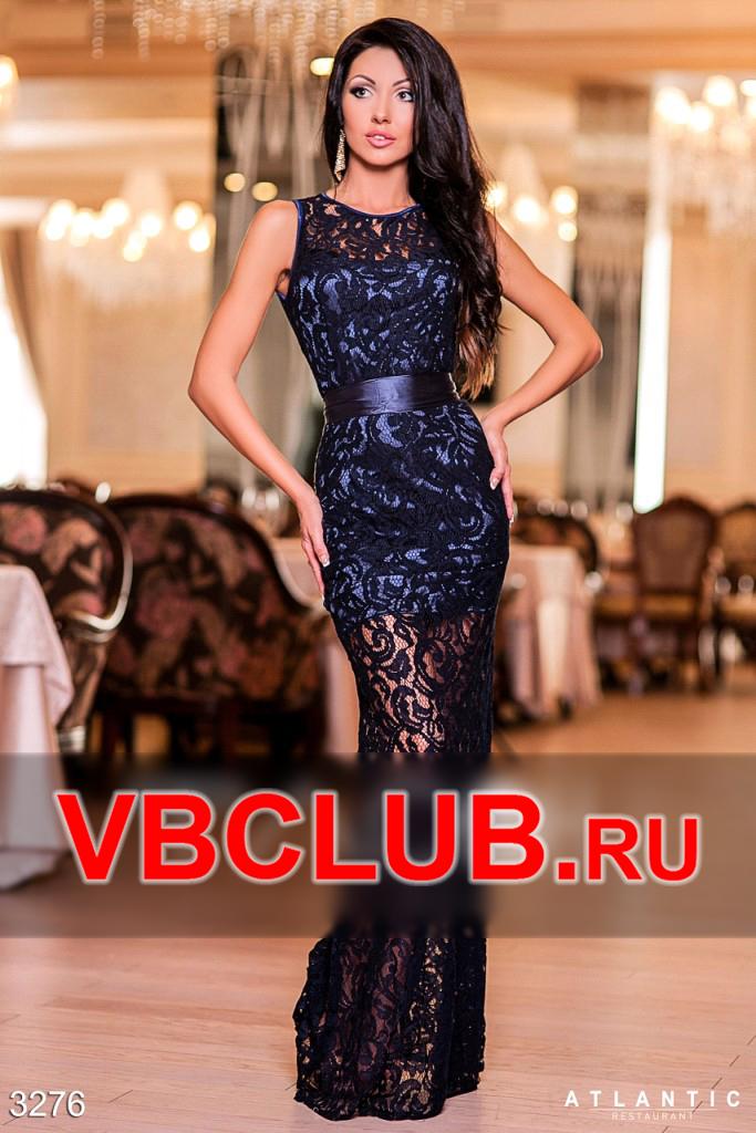 911bbe20011 Купить гипюровое платье в пол голубого цвета fn-3277 оптом и в розницу в  женском интернет-магазине VBClub.ru